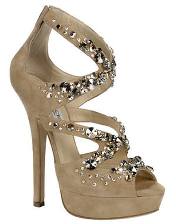 Sandales &quot;Zafira&quot;, Crystal Anniversary Collection, de Jimmy Choo