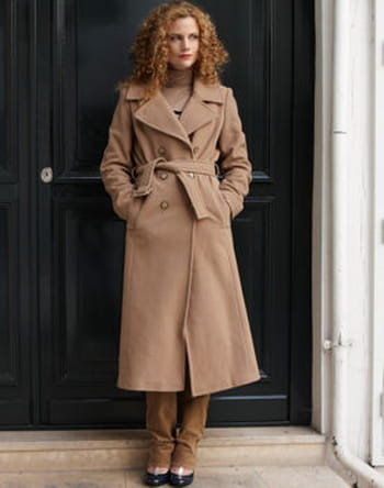 Manteau long femme la redoute