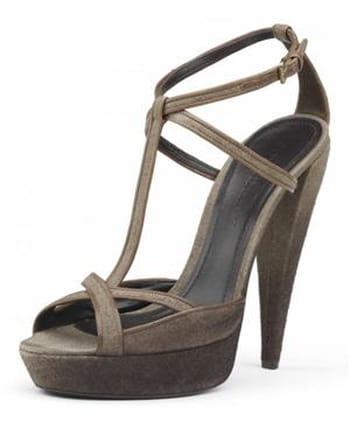 Sandales à plateforme de Burberry