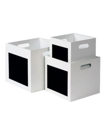 Les bacs de rangement white de casa test et avis sur l 39 inte - Boite de rangement casa ...
