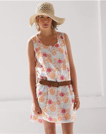 Robe à fleurs de Somewhere