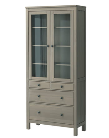vitrine hemnes d 39 ikea test et avis sur l 39 internaute argent. Black Bedroom Furniture Sets. Home Design Ideas