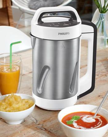 Philips comparatif test et avis sur l 39 internaute high tech - Soup maker philips video ...