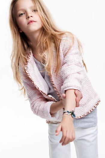 L'internaute Rose Zara Tweed Sur Avis Test Veste Et En L SpZxRR