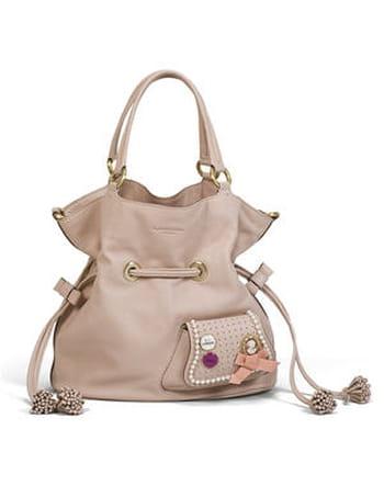Сумка женская розовая сумки Lancel в каталоге одежды Be-in.ru.