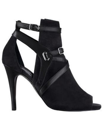 Sandales noires d'Hermès