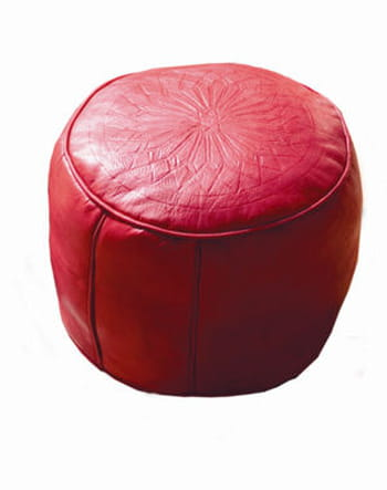 Le pouf marocain de Maisons du Monde
