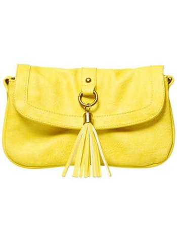 Pochette jaune clair de Gémo