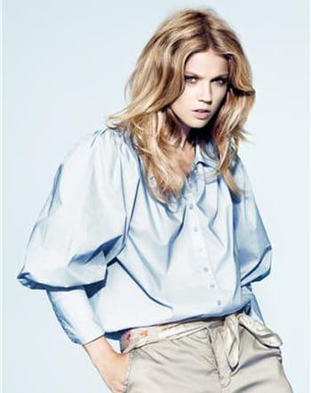 Chemise bleue de H&M