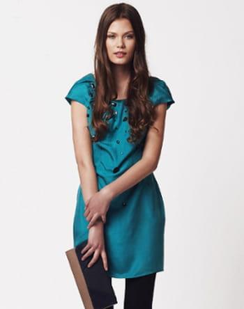 Robe turquoise de Lipsy