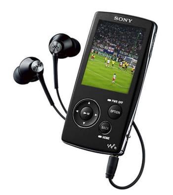 Sony NWZ-A818 noir 8 Go