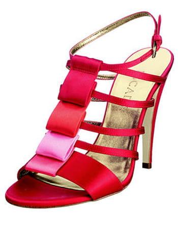 Sandale en soie d'Escada