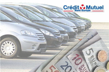 Pr&ecirc;t auto Cr&eacute;dit mutuel Nord Europe