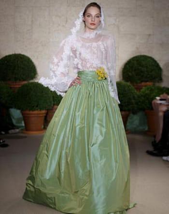 Свадебная коллекция платьев от Оскар де ла Рента 2011 (фото)