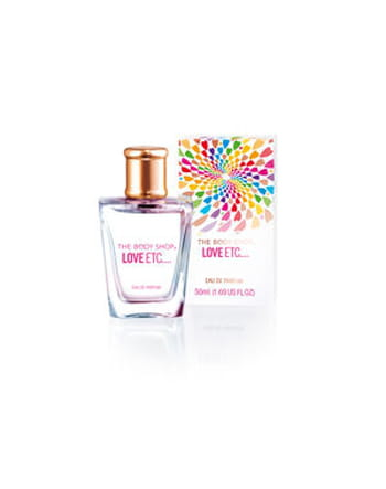 Eau de parfum Love Etc� de The Body Shop