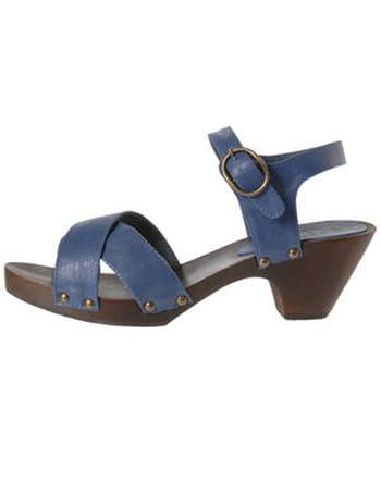 Sandales bleues de Mim