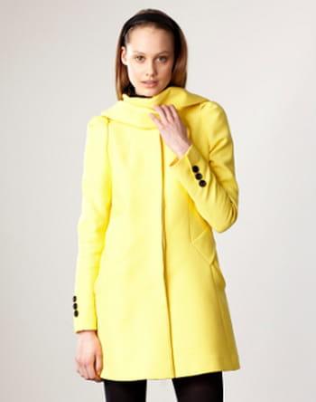 Manteau jaune de Paul & Joe Sister