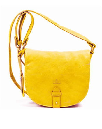 Sac jaune d'EliteModels' Fashion